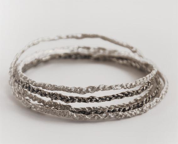 gehaakte armbanden | mieke de been • sieraden