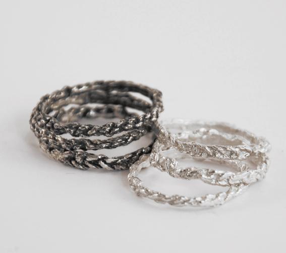 gehaakte ringen | mieke de been • sieraden